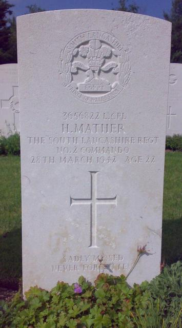Lance Corporal Harry Mather