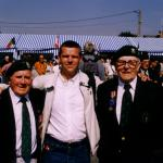 E. 'Jock' Falconer and  Larry Phillips with Stephane  June 2004