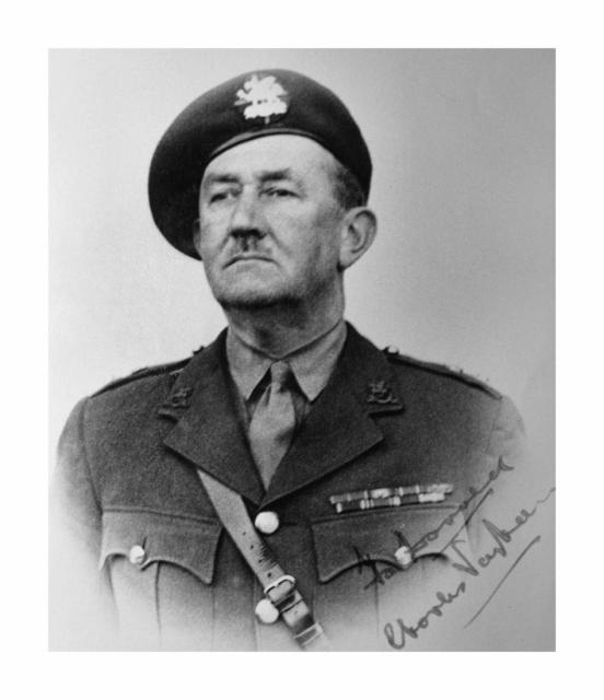 Lieut. Col. Charles Edward Vaughan OBE
