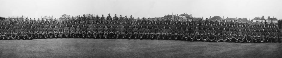 No. 6 Commando panorama August 1945