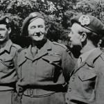 Lieut. John Proctor,  Lieut. Col. Charles Vaughan, Captain Donald Gilchrist