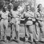 Ptes. Joe Lavin, Ted Crowe,  Ernie Mather, Fred Mather