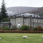 Achnacarry House and grounds