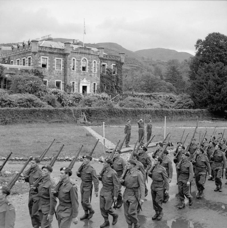 French Commandos at Achnacarry