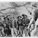 Stanley Buckmaster, Jock Cree,  and others from 5 troop No.2 Cdo. with prisoners