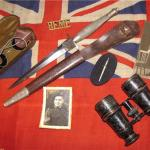 Collection of Commando militaria of Dennis Harry Slaughter
