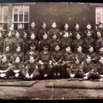 Officers- WO1s & Sgts No1 Commando-back row 3rd from left Sgt Durrant VC.