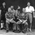 2 SBS group with Cpl. Ernest 'Dick' Palmer