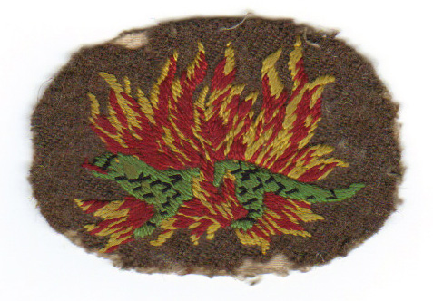 Salamander patch (1) of Arthur Horner - No.1 Cdo..