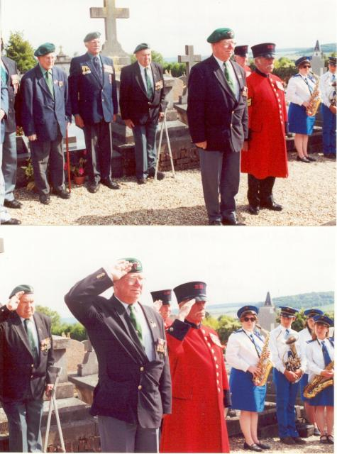 Veterans at Gamaches (80) ceremony