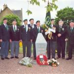 N°3 Commando veterans at Amfreville