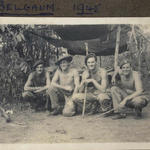 Capt. John Bowyer and others, Belgaum  India 1945.