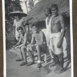 Capt. John Bowyer and others, Silchar, Assam, India 1944.