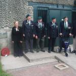 Merville Battery ceremony 7th June  2010 .