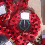 Poppy wreath  7th June 2010.