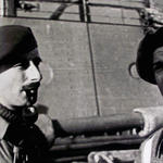 Captain Richard Broome and Captain Frank Mason
