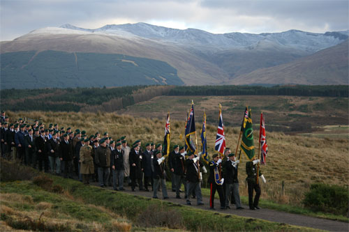 Remembrance Day 2007, Spean Bridge, Scotland