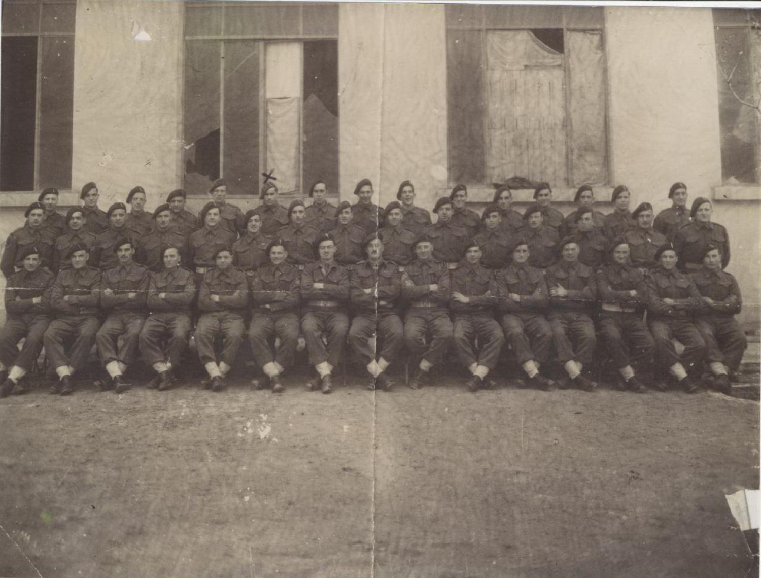 No.2 Cdo 4 troop at the SOE Base in Monopoli, Italy