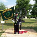 The CVA Standard at the National Memorial Arboretum.