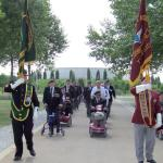 The Veterans parade.