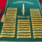 Replica of the Commando Battle Honours Flag.