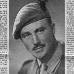 Obituary for Major Leslie Callf MC*  No.9 Commando