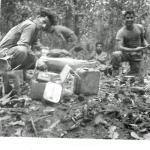 2 SBS 'C' Group Arakan Swamps Feb 45  - lunch
