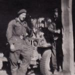 Bert my mechanic after the Aller Crossing April 45