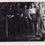C/Sgt James Atkins, Frank Stephenson, C/Sgt Beau Ghest, Bill and Beever