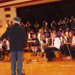 Scotty talking to the pupils