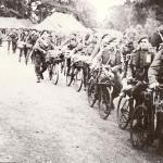 No.3 Commandos and their bikes