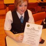 musician of the year Lochaber High school 2007