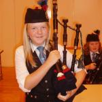 a wee Highland lassie