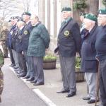 Cadets facing the Commando Veterans, Fort William 2007