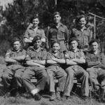 Sgt Ted Tharme, Bill Silvester and pals