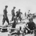 Mortar firing