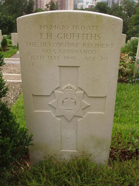 Private T. H. Griffiths