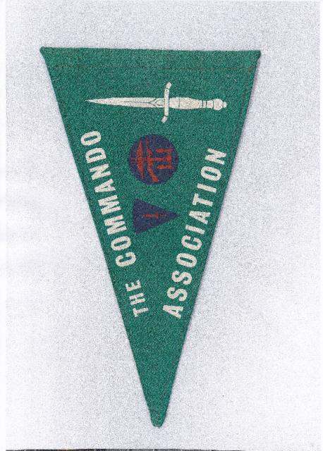Commando Association Pennant at the Dutch Commando Museum