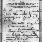 The will of Private Robert Rose Urquhart