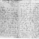 The last letter to his mother from Private Robert Rose Urquhart