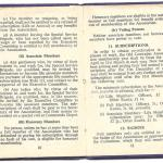 Constitution of the Old Comrades Association of the Special Service Brigade - page 10/11