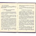 Constitution of the Old Comrades Association of the Special Service Brigade - page 2/3