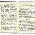 Constitution of the Old Comrades Association of the Special Service Brigade - page 4/5