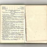 Page 3 of the 1951 Commando Association Diary