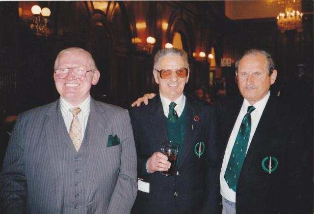 Tom Heard No.2 Cdo, Dick Minnett No.1 Cdo & Chindit, Des Crowden No.5 Cdo