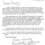 Letter of thanks from The Countess Mountbatten of Burma