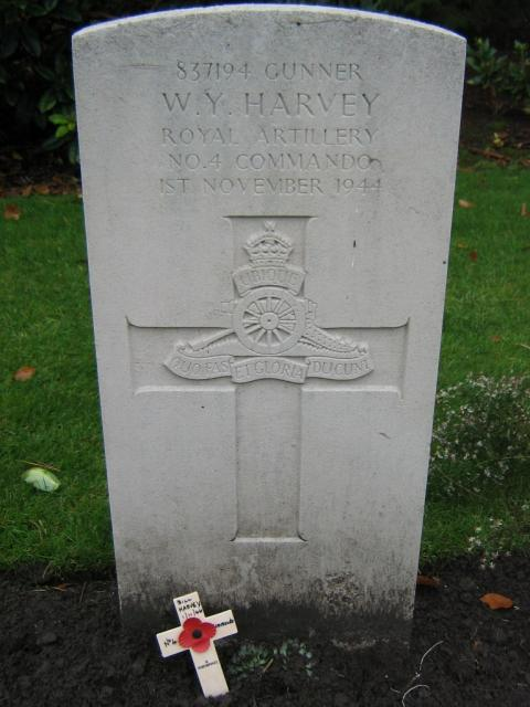 Gunner William (Bill) Harvey