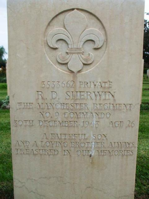Private Robert Sherwin
