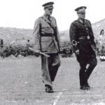 Marshall Tito inspects No. 2 Commando, June 1944