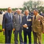 Bob Hoyle, 'Cab' Callaway, Corran Purdon, and Ron Chung